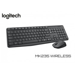 KIT LOGITECH MK235 WIRELESS (TECLADO / MOUSE)