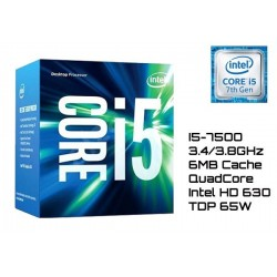 3.4GHz INTEL I5-7500 6MB CACHE (LGA1151) 7MA GEN (KABY LAKE)