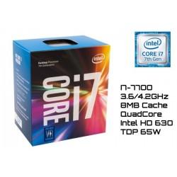 3.6GHz INTEL I7-7700 8MB CACHE (LGA1151) 7MA GEN (KABY LAKE)
