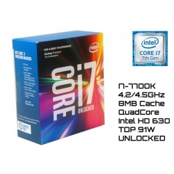 4.2GHz INTEL I7-7700K 8MB CACHE (LGA1151) 7MA GEN (KABY LAKE) UNLOCKED