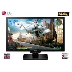 24'' LED LG 24GM77 GAMER 144Hz 1MS (FULL HD 1920x1080) HDMI / DP / DVI / VGA