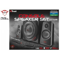 PARLANTES GAMER TRUST GXT 638 CONSOLE SPEAKER SET (OPTICAL INPUT)