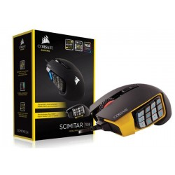 MOUSE GAMER CORSAIR SCIMITAR RGB OPTICAL MOBA/MMO