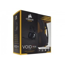 AURICULARES GAMER CORSAIR VOID RGB USB DOLBY 7.1 GAMING HEADSET