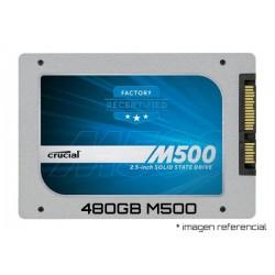 480GB SSD CRUCIAL M500 (500MB LECTURA / 400MB ESCRITURA)