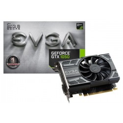 T.V. EVGA GEFORCE GTX 1050 GAMING 2GB GDDR5