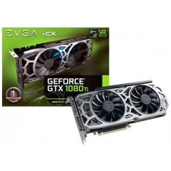 (AGOTADA) T.V. EVGA GEFORCE GTX 1080 TI SC2 GAMING11G ICX TECHNOLOGY
