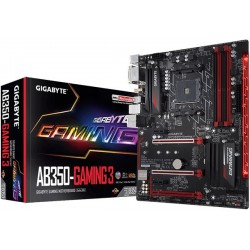 M.B. GIGABYTE GA-AB350-Gaming 3 (AM4) RYZEN