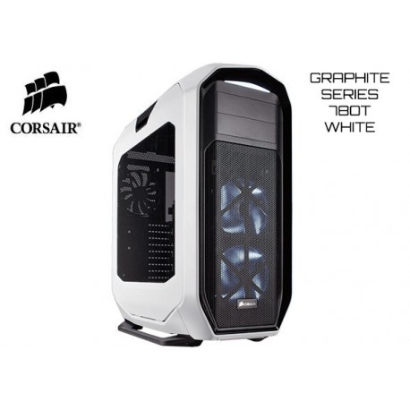 GABINETE CORSAIR GRAPHITE SERIES™ 780T FULL-TOWER PC (WHITE)