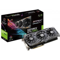 T.V. ASUS STRIX GEFORCE GTX 1080TI 11G GAMING (ROG-STRIX-GTX1080TI-11G-GAMING)