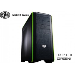 GABINETE COOLER MASTER CM 690 III (GREEN EDITION) (CMS-693-GWN1)