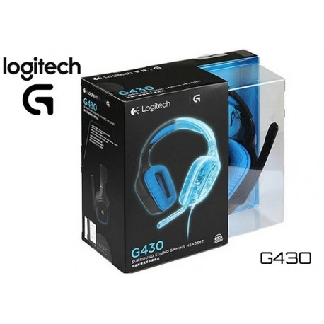 AURICULARES LOGITECH G430 GAMING HEADSET DOLBY 7.1 (981-000551)