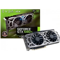 T.V. EVGA GEFORCE GTX 1080 TI iCX GAMING 11GB GDDR5X (11G-P4-6591-KR)