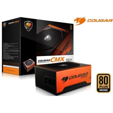 FUENTE DE PODER COUGAR CMX 550 550W 80P BRONZE (CGR B2-550CM)