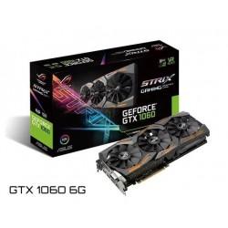 T.V. ASUS STRIX GEFORCE GTX 1060 6G (ROG STRIX-GTX1060-6G-GAMING)