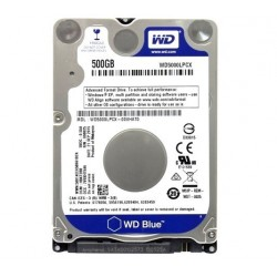 HDD 500GB 2.5'' WESTERN DIGITAL WD5000LPCX