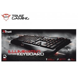 TECLADO TRUST GXT 280 LED ILLUMINATED GAMING