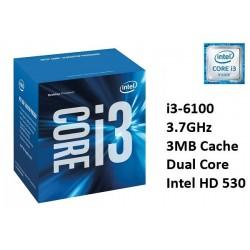 3.7GHz INTEL I3-6100 3MB CACHE (LGA1151)