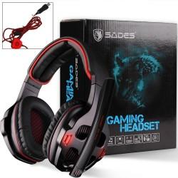 Auriculares Gamer Sades SA-903
