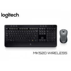 KIT LOGITECH MK520 WIRELESS (TECLADO / MOUSE)