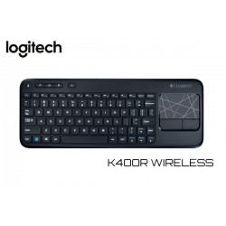 TECLADO LOGITECH K400R TOUCHPAD WIRELESS