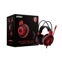 AURICULARES GAMER MSI DS501 GAMING HEADSET