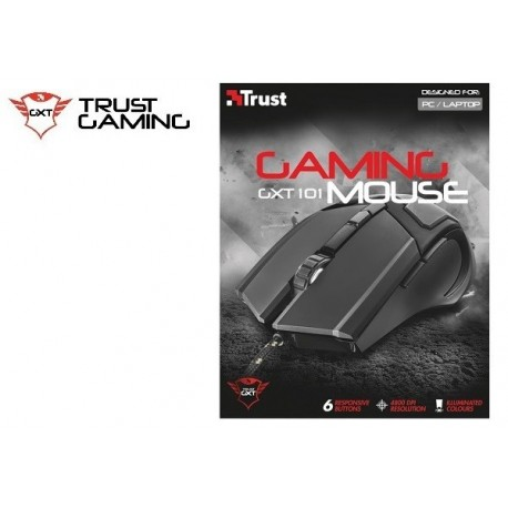 MOUSE TRUST GXT 101 GAMING MOUSE (USB)