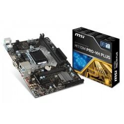 M.B. MSI H110M PRO-VH PLUS (LGA1151)