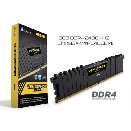 8GB DDR4 2400MHZ CORSAIR VENGENACE LPX
