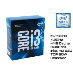 4.2GHz INTEL I3-7350K 4MB CACHE (LGA1151) 7MA GEN (KABY LAKE) UNLOCKED