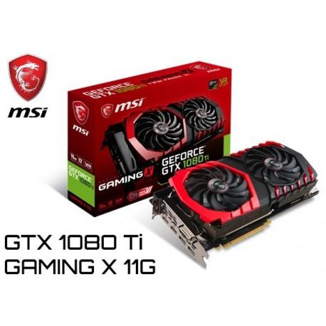 T.V. MSI GEFORCE GTX 1080 Ti GAMING X 11G (GTX 1080TI GAMING X 11G)
