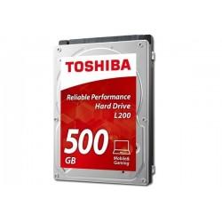 "HDD 500GB 2.5"" TOSHIBA MOBILE L200 (HDWJ105UZSVA)"