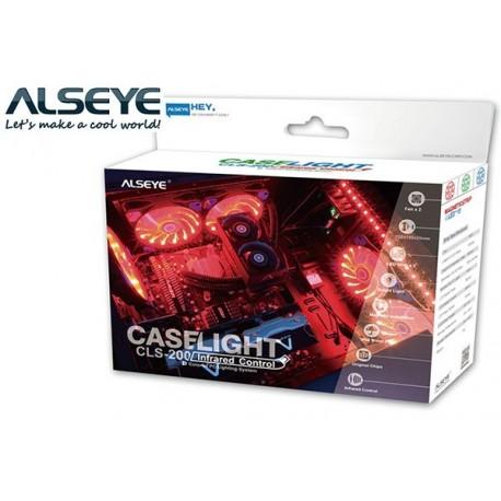 CASE LIGHT CLS200 (2xFAN RGB, 2xSTRIP LED RGB, CONTROL)