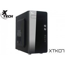 GABINETE XTECH XTK07 MINITOWER MATX 500W (USB/AUD FRONTAL)