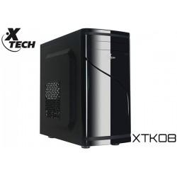 GABINETE XTECH XTK08 MINITOWER MATX 500W (USB/AUD FRONTAL)