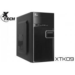 GABINETE XTECH XTK09 MINITOWER MATX 500W (USB/AUD FRONTAL)