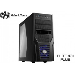 GABINETE COOLER MASTER ELITE 431 PLUS (RC-431P-KWN2)