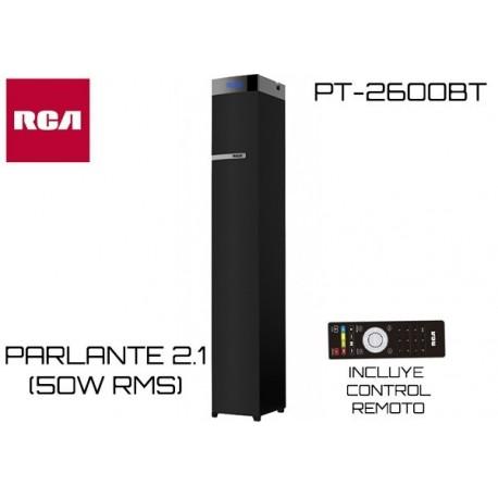 RCA PARLANTE 2.1 BLUETOOTH PT-2600BT 50W RMS