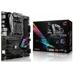 M.B. ASUS ROG STRIX B350-F GAMING (AM4) DDR4 (RYZEN)