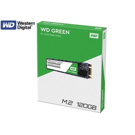 120GB M.2 SSD WESTERN DIGITAL GREEN (WDS120G1G0B)