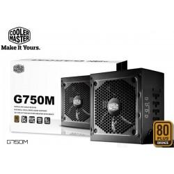 FUENTE DE PODER COOLER MASTER G750M (750W - SEMIMODULAR)