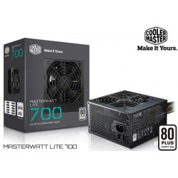 FUENTE DE PODER COOLER MASTER MASTERWATT LITE 700 (700W)