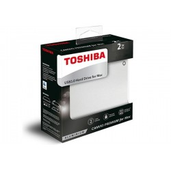 2TB EXTERNO USB3.0 TOSHIBA CANVIO PREMIUM (HDTW120XCMCA) PARA MAC