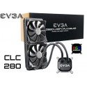 WATER COOLING EVGA CLC 280 (280MM) RGB LED (400-HY-CL28-V1)