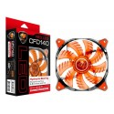 FAN LED COUGAR CF-D14HB-R 140MM (RED)