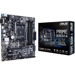 M.B. ASUS PRIME B350M-A/CSM (AM4) DDR4 (RYZEN)