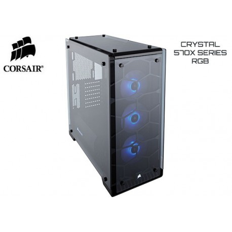 GABINETE CORSAIR CRYSTAL SERIES 570X RGB