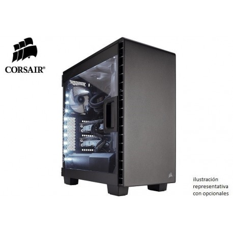 GABINETE CORSAIR CARBIDE CLEAR 400C COMPACT