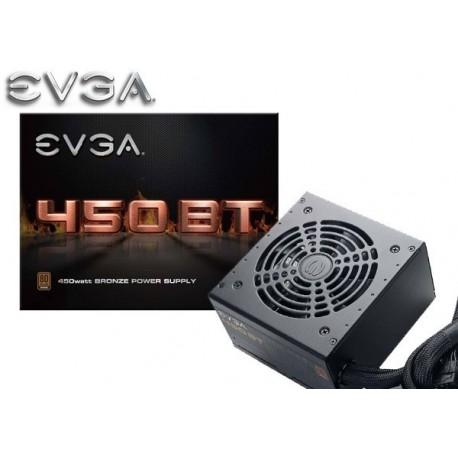 FUENTE DE PODER EVGA 450 BT 450W 80PLUS BRONZE (100-BT-0450-K1)