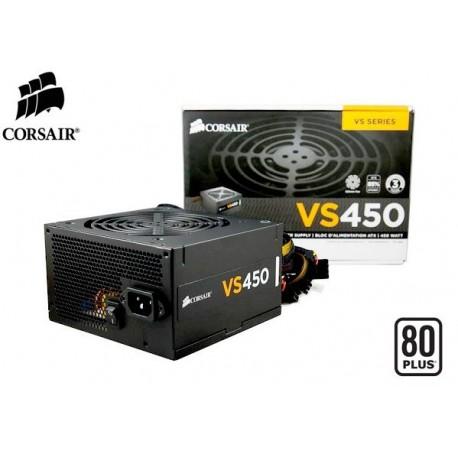 FUENTE DE PODER CORSAIR VS450 80PLUS (WHITE) 450W (CP-9020049-WW)